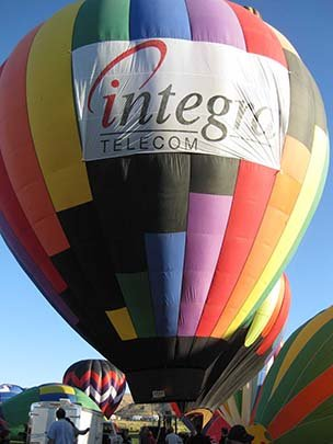 Hot Air Balloon Aerial Advertising - Rancho Murieta, CA