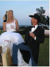 Aerial Wedding - Rancho Murieta, CA
