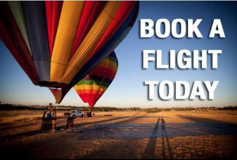 Book a Hot Air Balloon Flight - Rancho Murieta, CA