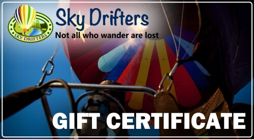 Sky Drifters Gift Certificate